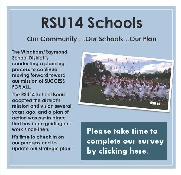 RSU14 Schools Strategic Plan