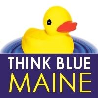 Think Blue Maine Small