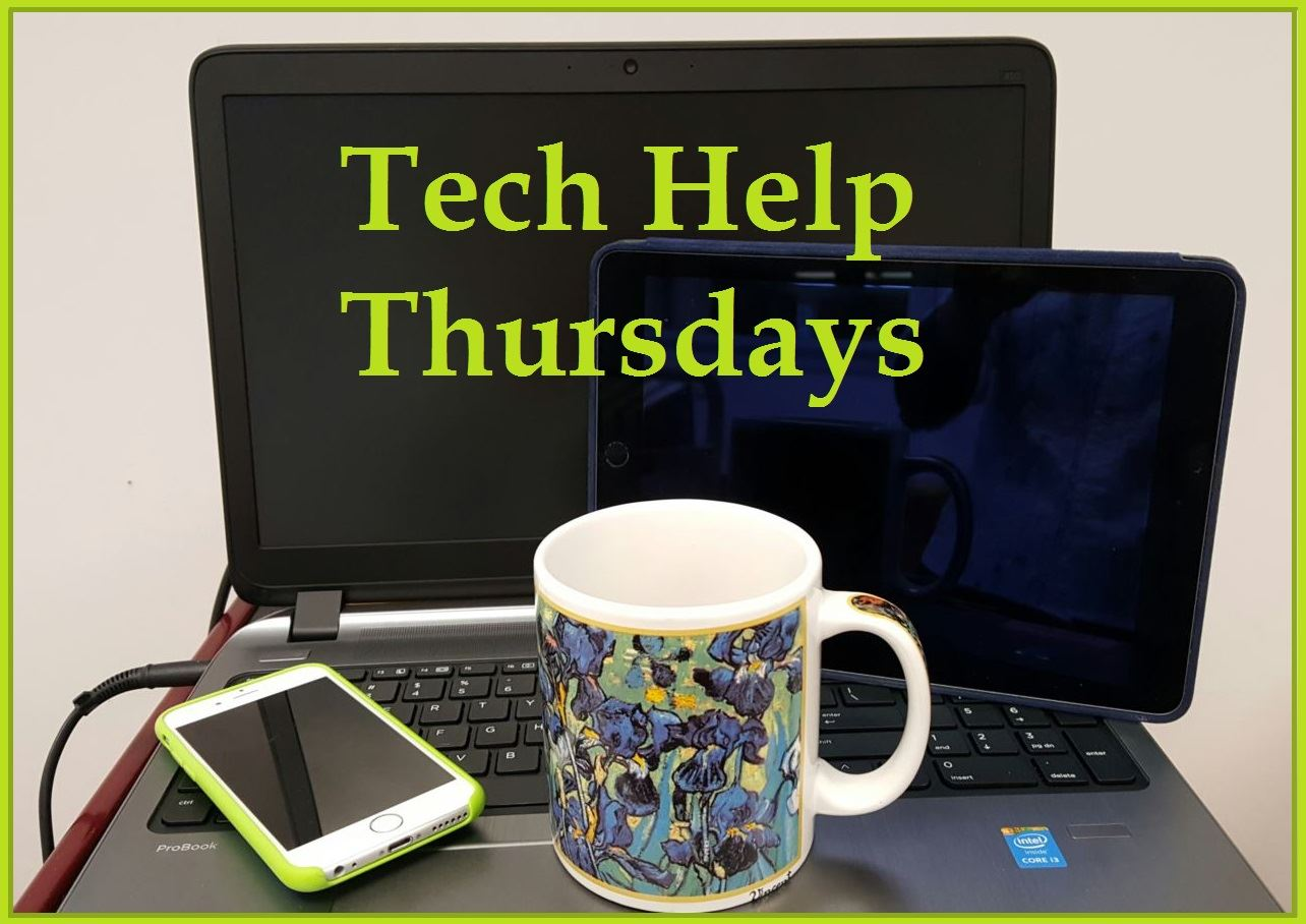 Tech Help Thursdays logo