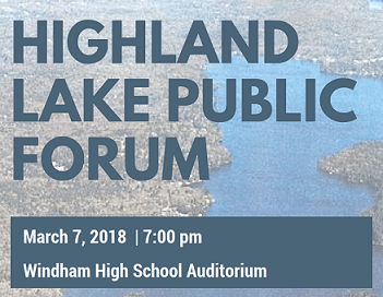 Highland Lake Public Forum Poster_small
