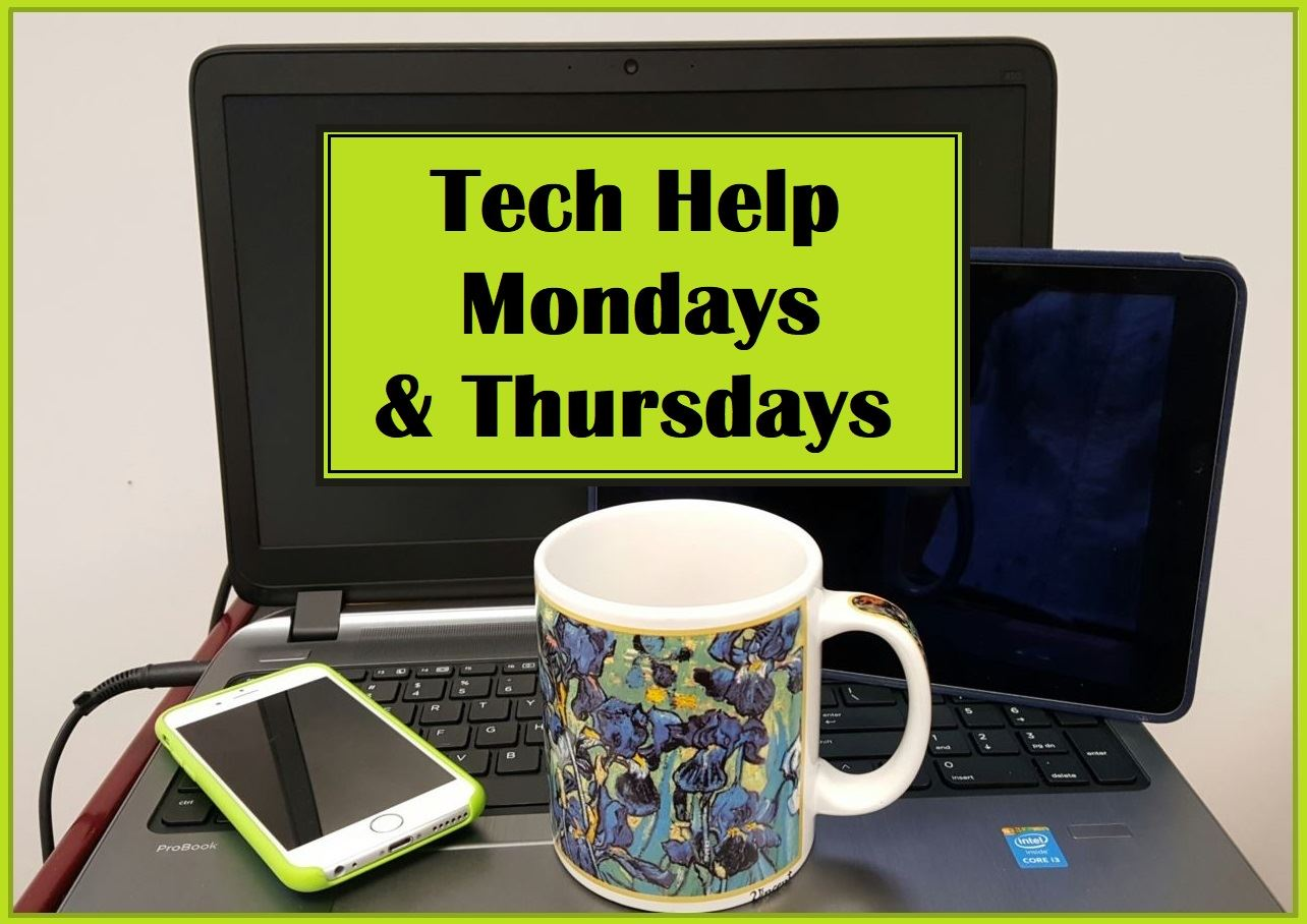 Tech Help Monday & Thursday logo