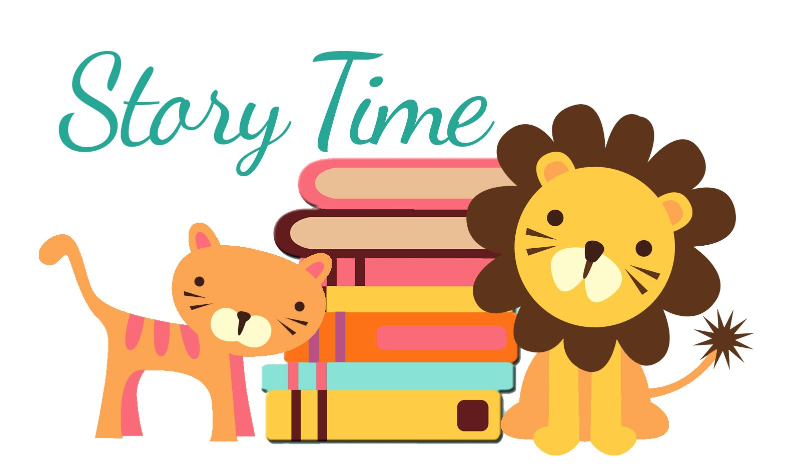 tiger and lion with books