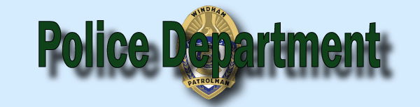 Police Department Generic Banner