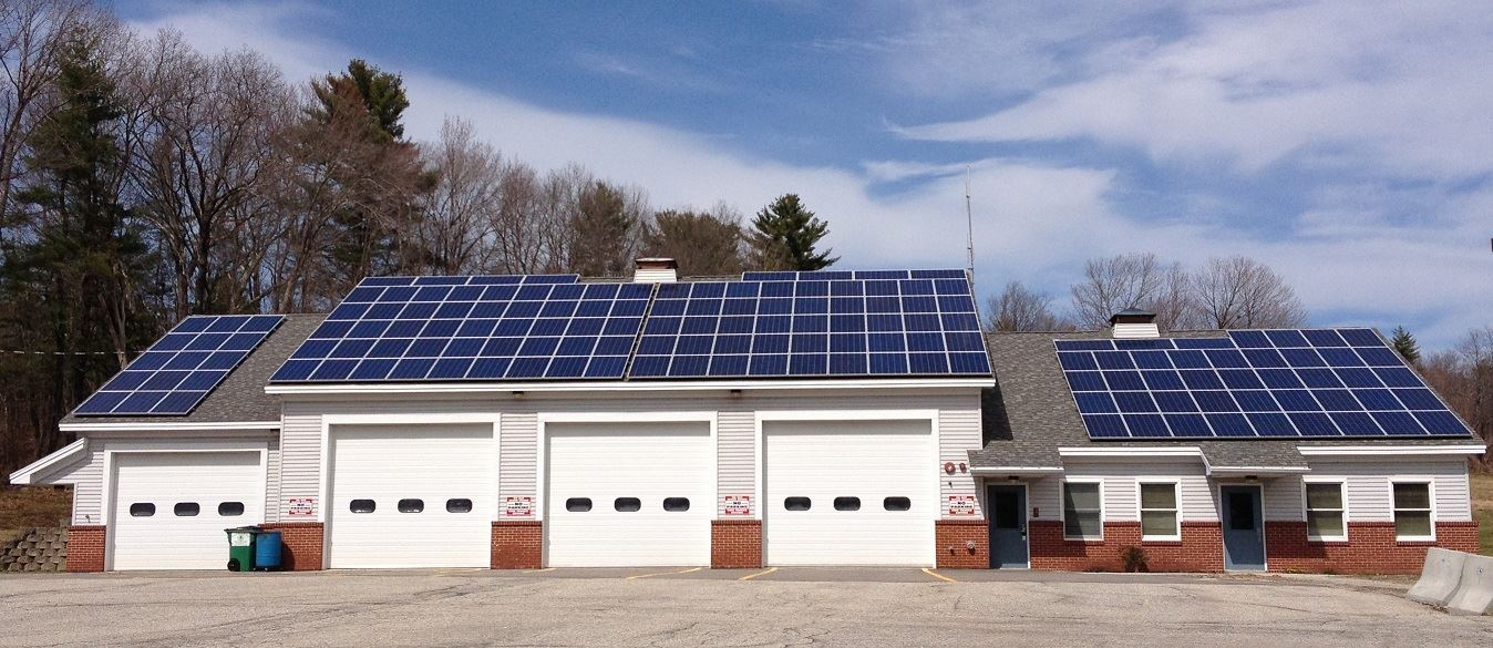 East Windham Fire Station Solar Panels