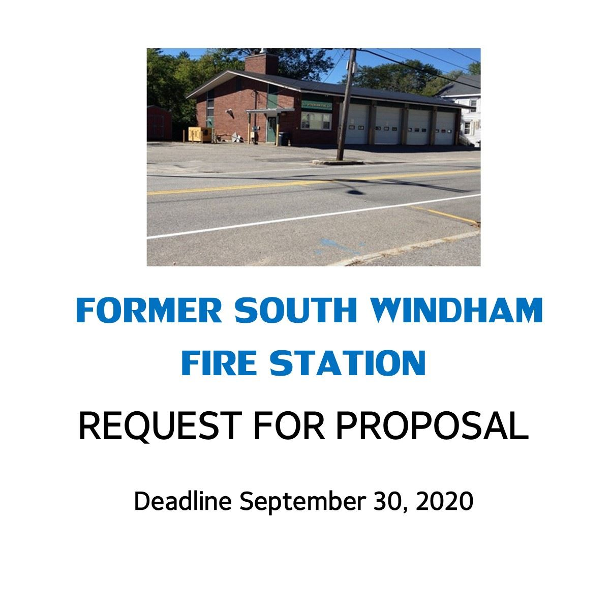 SW Fire Station Redevelopment RFP