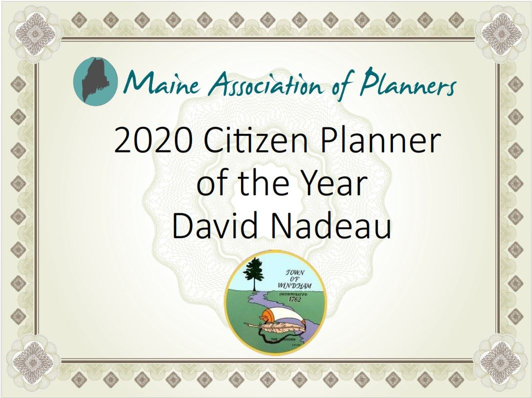 MAP 2020 Citizen Planner Award