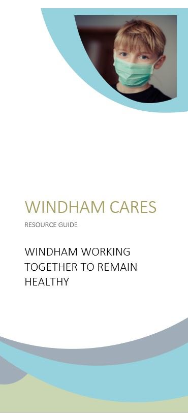 Windham Cares brochure page 1