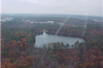 chaffin pond from the air